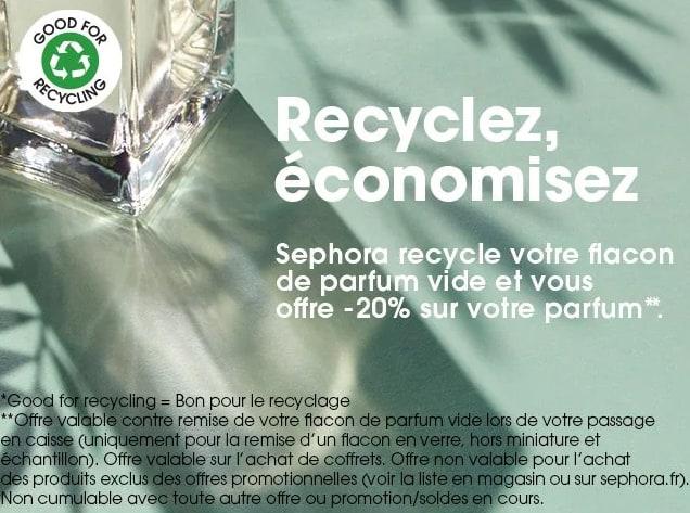Recyclage sephora Aide à la réduction SMICOTOM 33