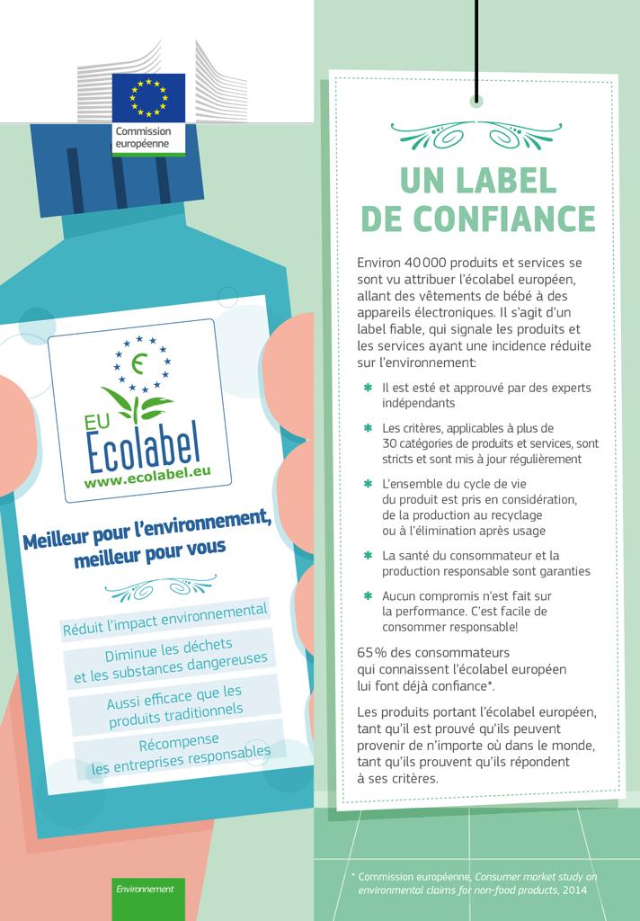 ecolabel europeen meilleur pour environnement meilleur pour vous 2017 Ecolabel SMICOTOM 33