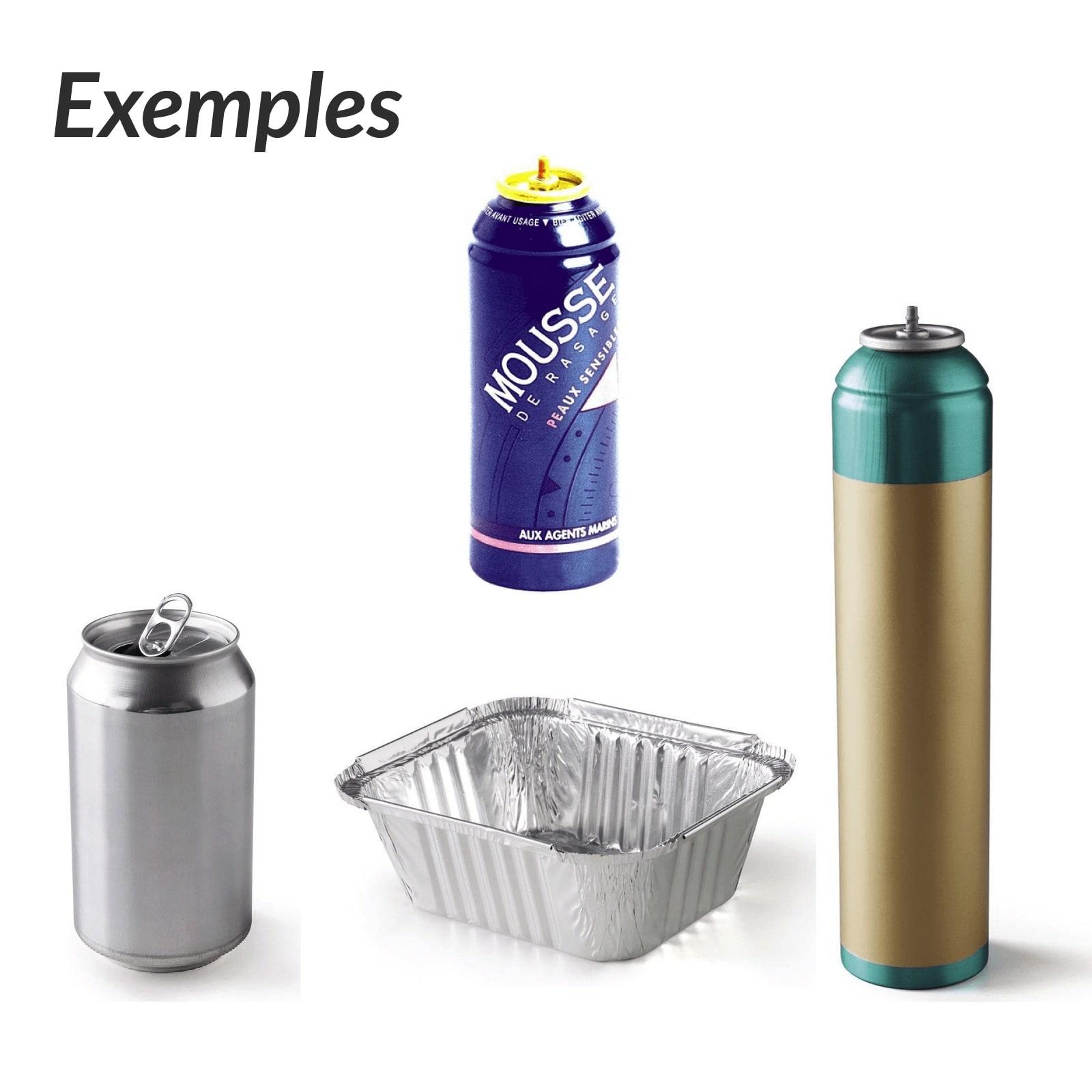 Aluminium Le tri des emballages recyclables SMICOTOM 33