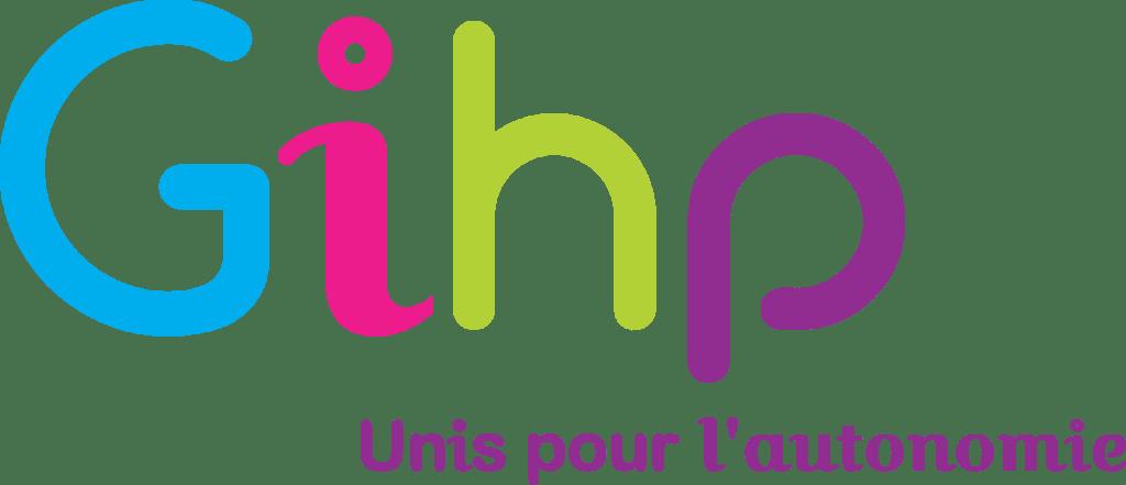 Logo Gihp simple fond transparent La recyclerie SMICOTOM 33