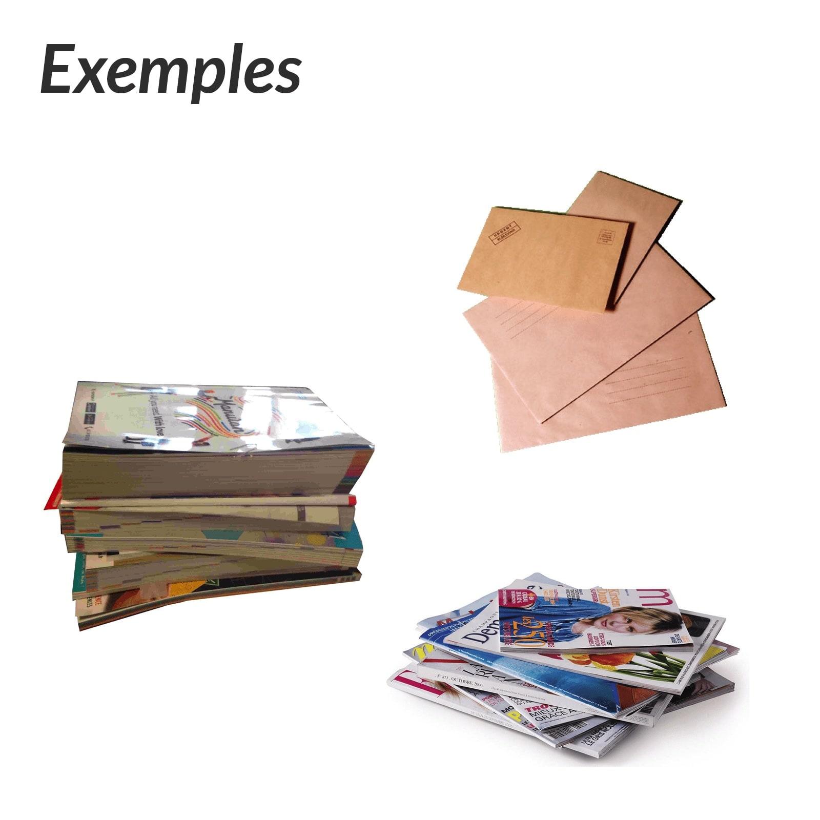 Papier Le tri des emballages recyclables SMICOTOM 33
