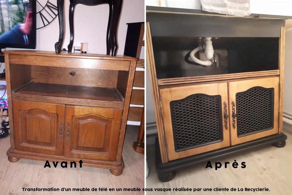 meuble tv vasque Aide à la réduction SMICOTOM 33